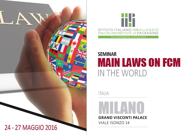 Seminar MAIN LAWS ON FCM IN THE WORLD - Milano - 24-27 Maggio 2016