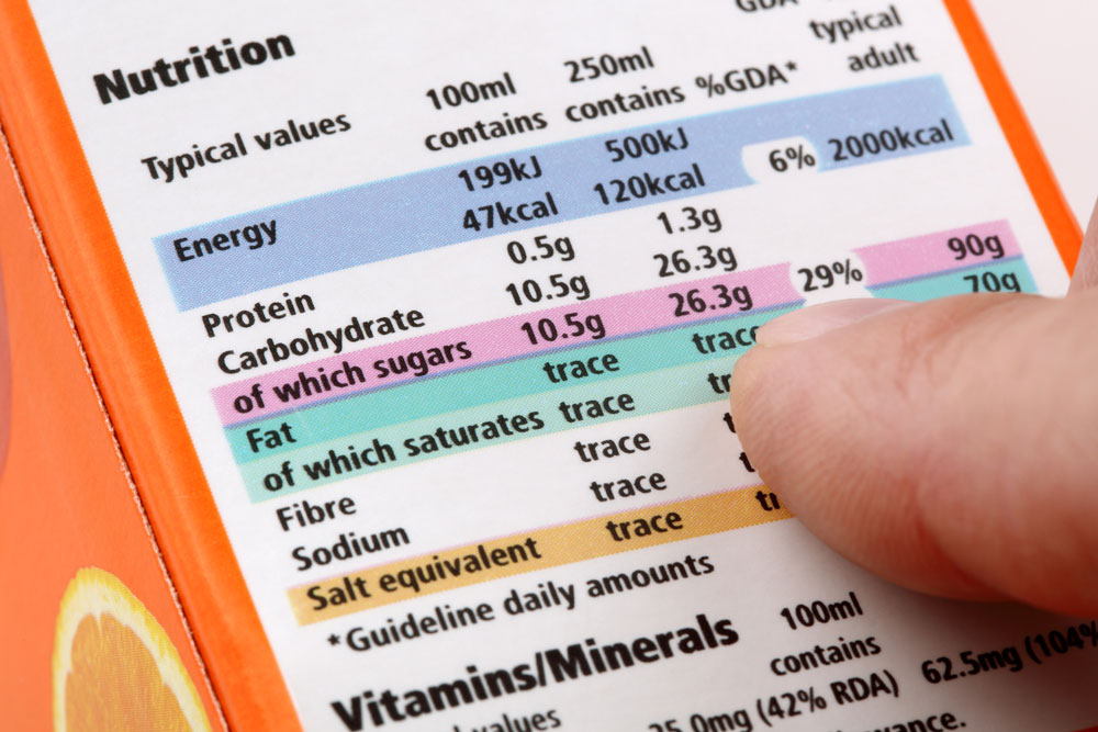 Alimenti e qualità: obblighi e deroghe dell'etichetta nutrizionale